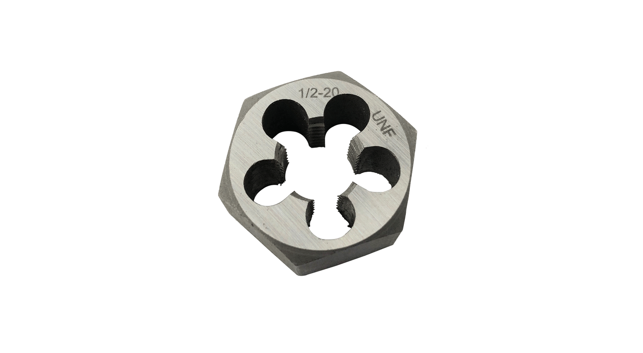 Metric Hex Die High Speed 12.00 mm x 1.75 mm