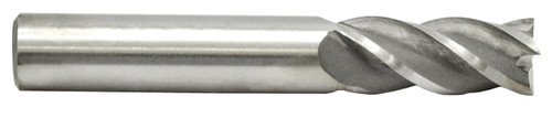 Multi Flute High Speed End Mill 1-1/2 Diameter 1-1/4 Shank Dia.No. of Flutes -6