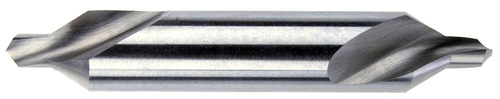 LH Combined Drill and Countersink, H.S., Size No. 2, 60 Degrees