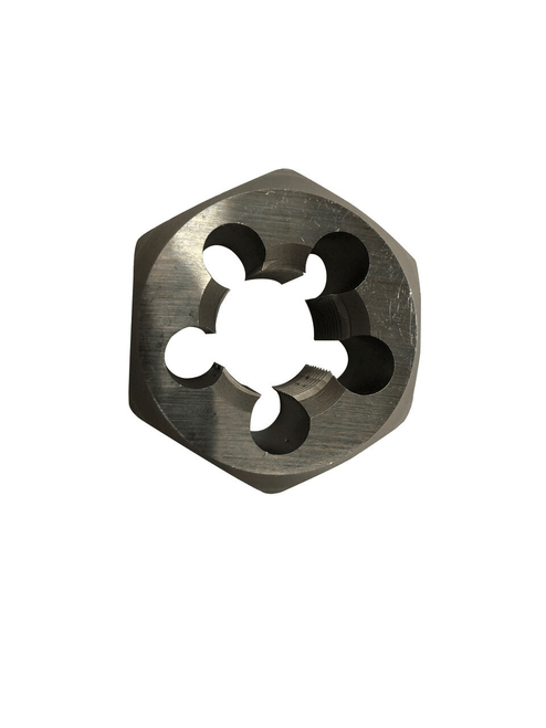 Hex Die, Type: Metric Special Threads Right Hand, Size: 10mm x 1mm Metric Carbon Steel