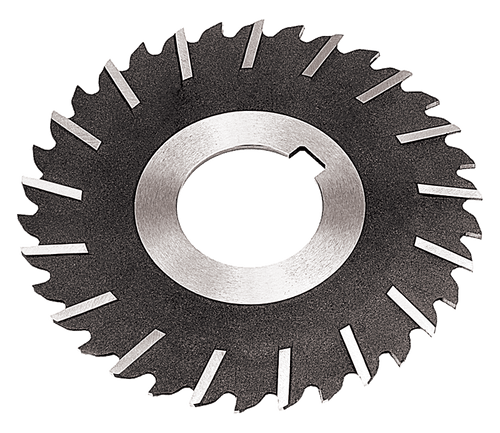 """Side Chip Clearance 5""""x11/64x1-1/4 hole,  HS Metal Slitting Saws"""