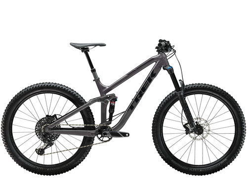 MTB da Trail Trek Fuel EX 8 Plus 2019 Trek Black vista laterale