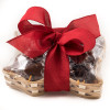 Texas Chocolate Basket Scarlet Red