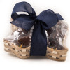 Texas Chocolate Basket Navy Blue