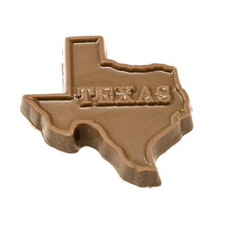 Texas Shape Chocolate