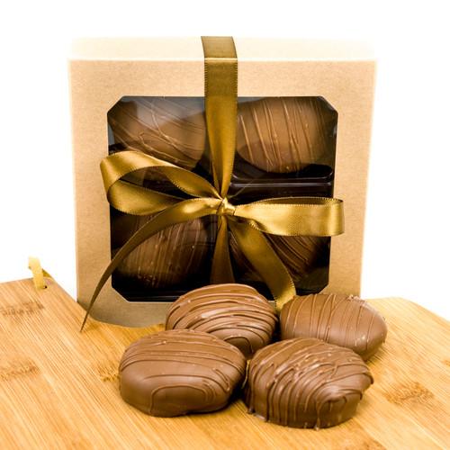 Chocolate Caramel Oreos