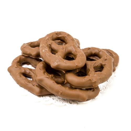 Chocolate Pretzels Kraft Bag