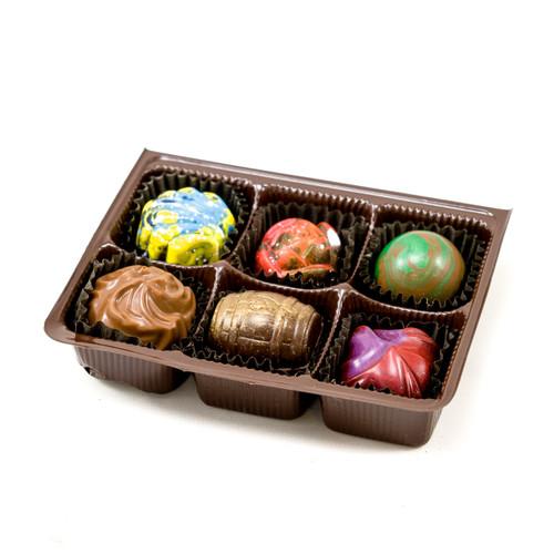 6 pc Truffle Box