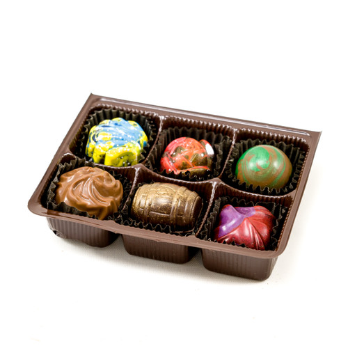 6 pc Truffle Box