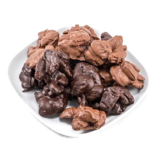 Chocolate Pecan Clusters