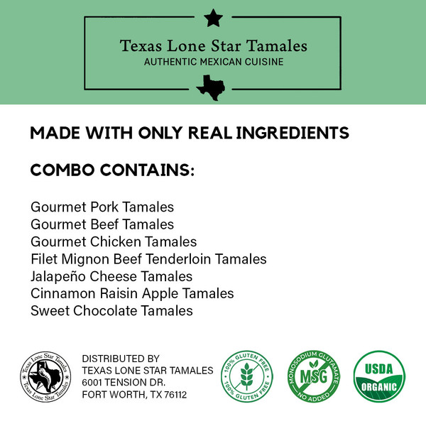 Texas Christmas Tamale Party Pack