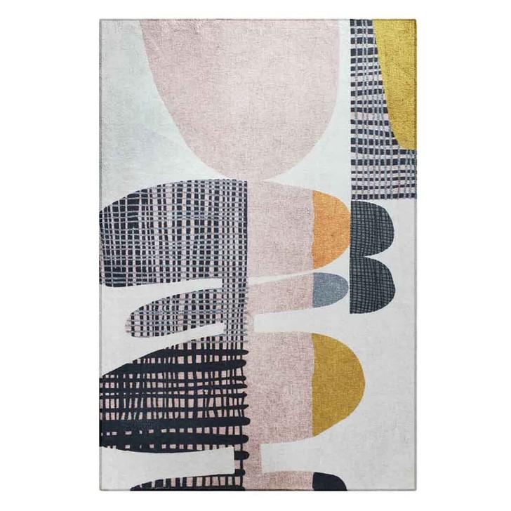 Kangos 120 x 70 Art Contemporary Floor Rug