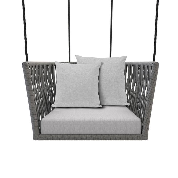 Cordoba Aluminium Outdoor Rope Swing Chair