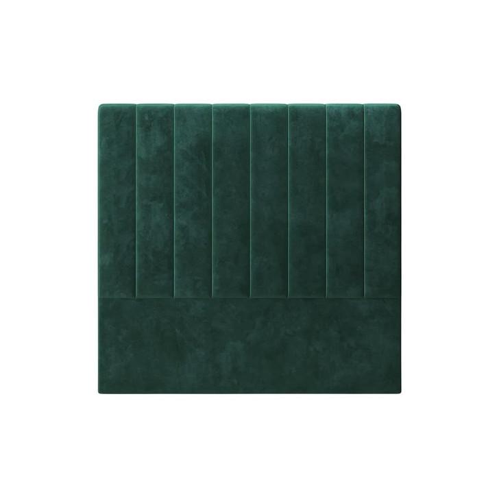 Gratiana Double Upholstered Velvet Headboard - Green
