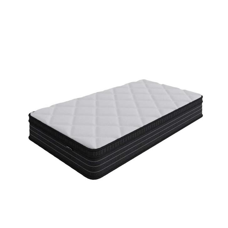 Luxo Iris 25cm Thick Firm Foam  Pillow Top Pocket Spring Mattress - Single