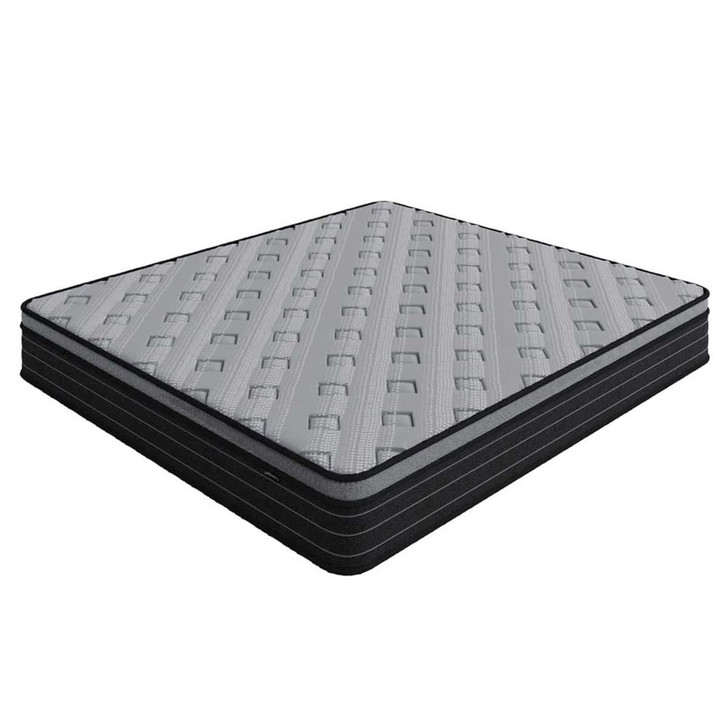 Phoebe 33cm Thick Firm Foam Euro Pillow Top Pocket Spring Mattress - King