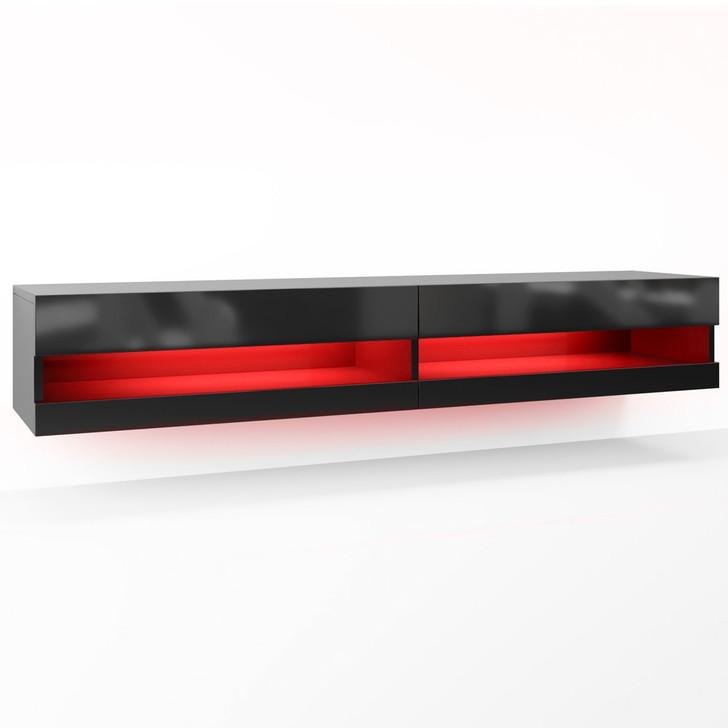 Luxo Marshall 180 cm LED Floating Entertainment Unit