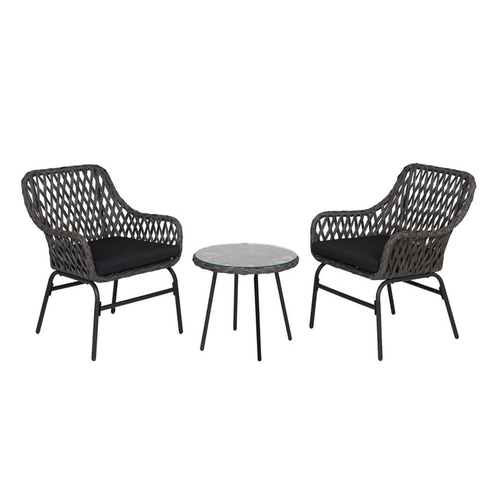 Sandy Outdoor Conversation Set with Coffee Table
