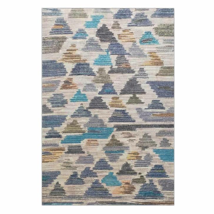 Medkila Art Contemporary Floor Rug