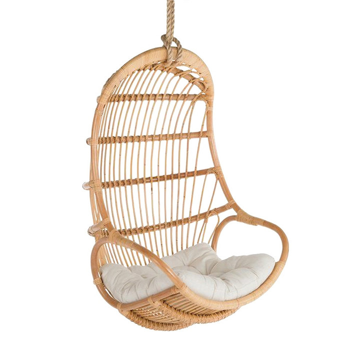 Tanner Natural Rattan Hanging Chair