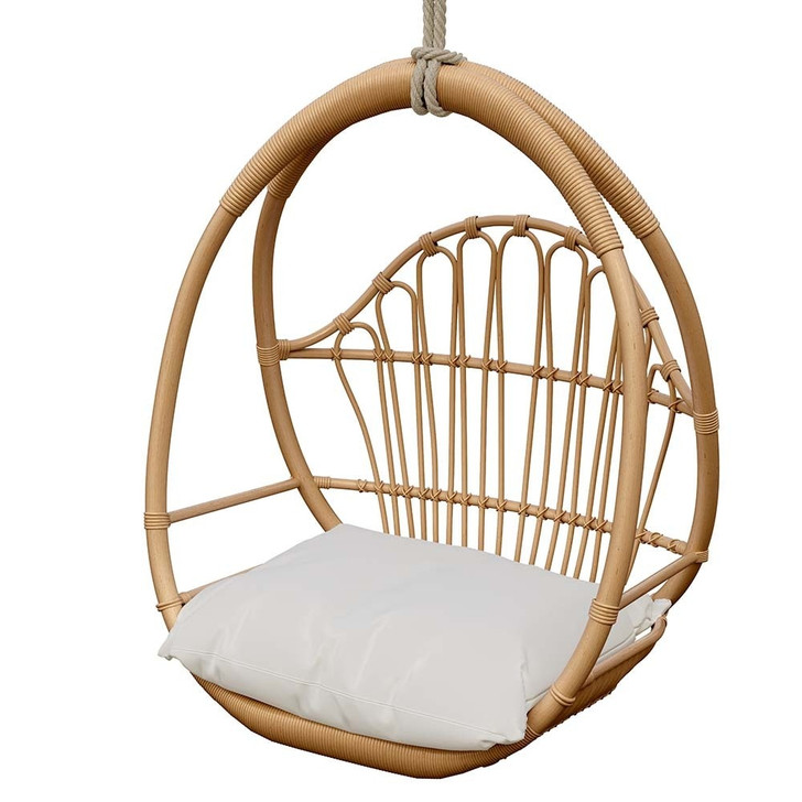 Enzo Natural Rattan Hanging Chair