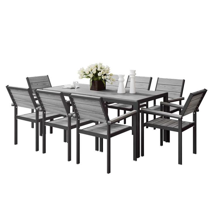 Sunter 8 Seater Outdoor Dining Set
