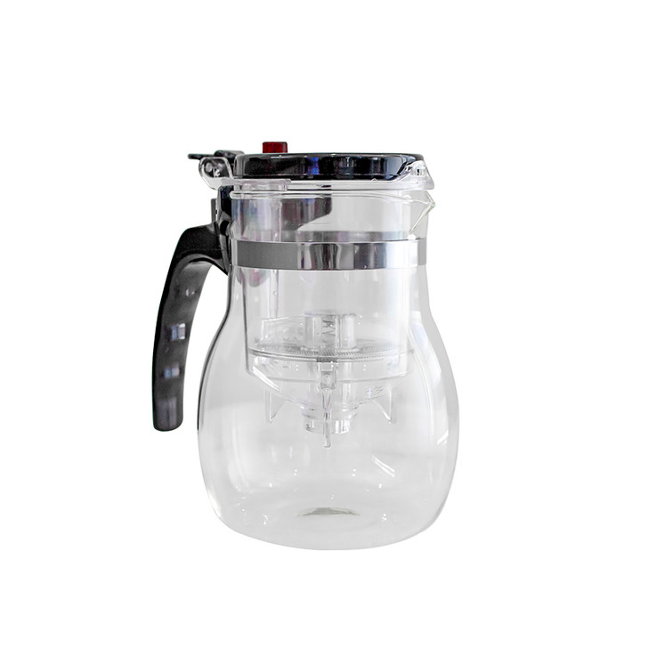 Luxo 500ml Glass Teapot with Infuser