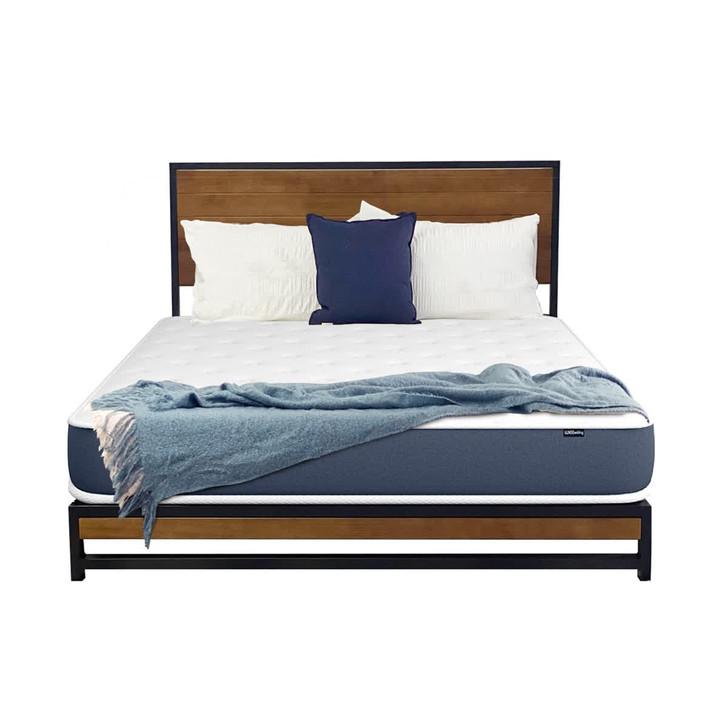 Luxo Beyond Designer Platform Bed With Mattress - Double