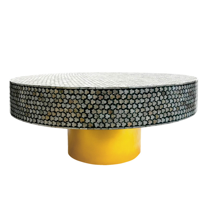 Aliyah 91 cm Mother of Pearl Inlay Coffee Table