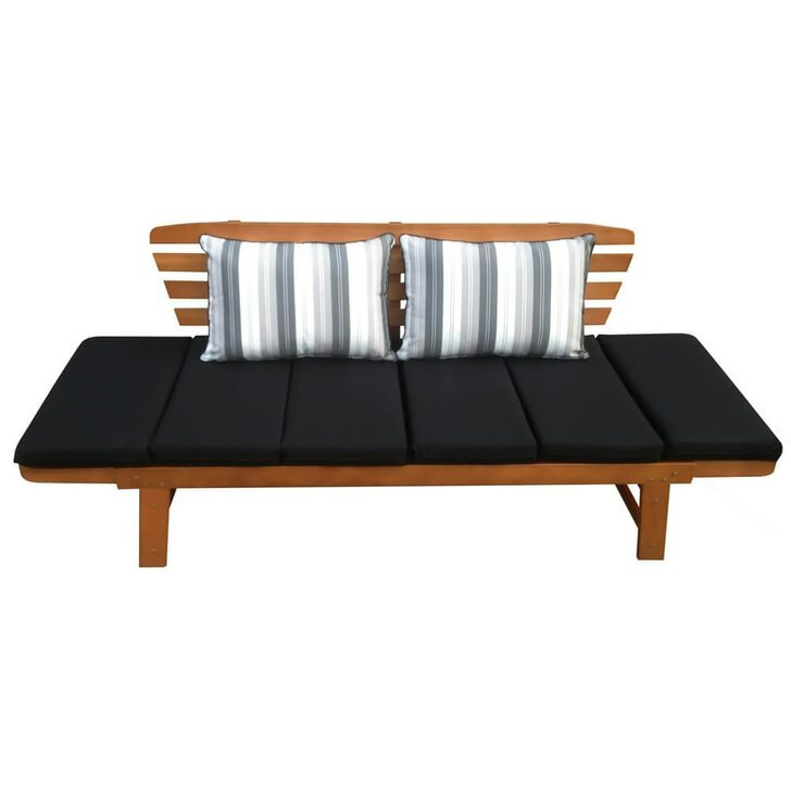 Luxo Chatsworth 2-in-1 Eucalyptus Hardwood Day Bed