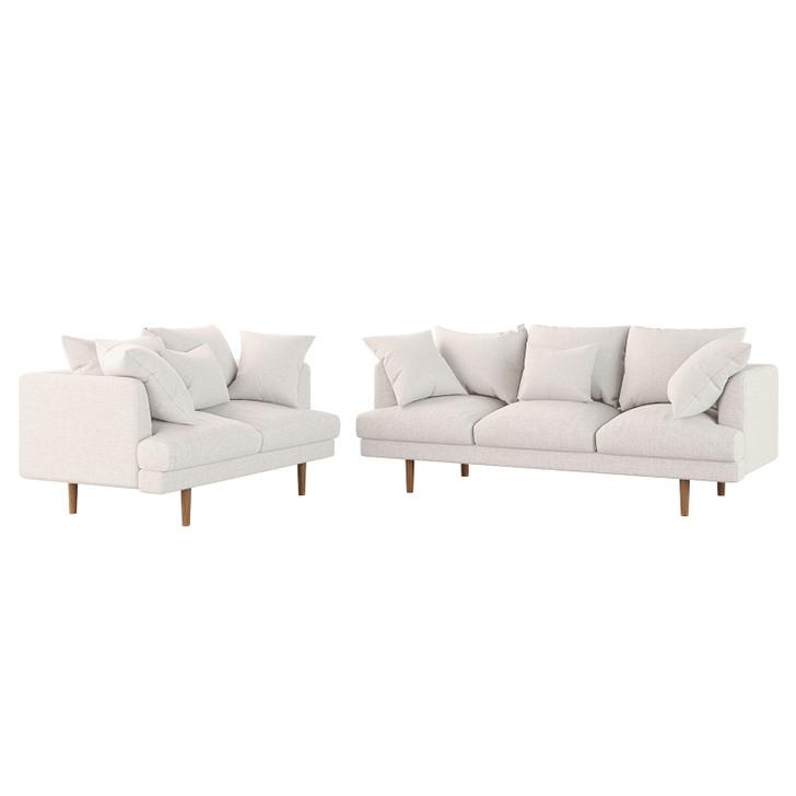Colton 5 Seater Fabric Sofa