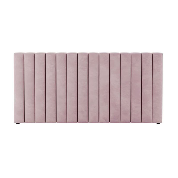 Aquila Extra Wide Double Upholstered Bed Headboard - Pink
