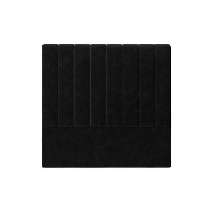 Gratiana Double Upholstered Velvet Headboard - Ink