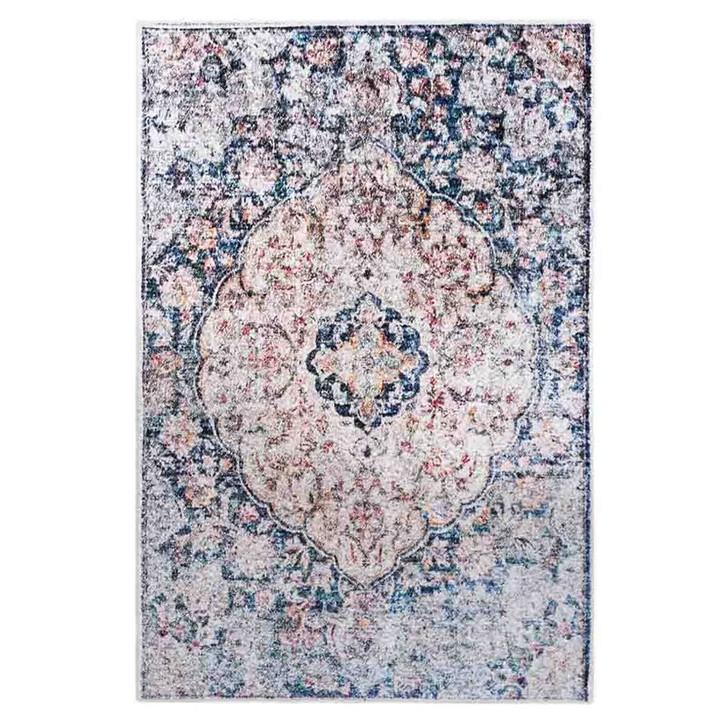 Ariza Distressed Persian Silky Floor Rug