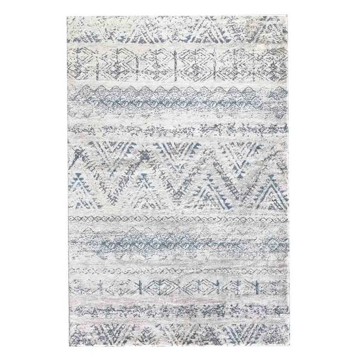 Hazel Blue Art Contemporary Floor Rug