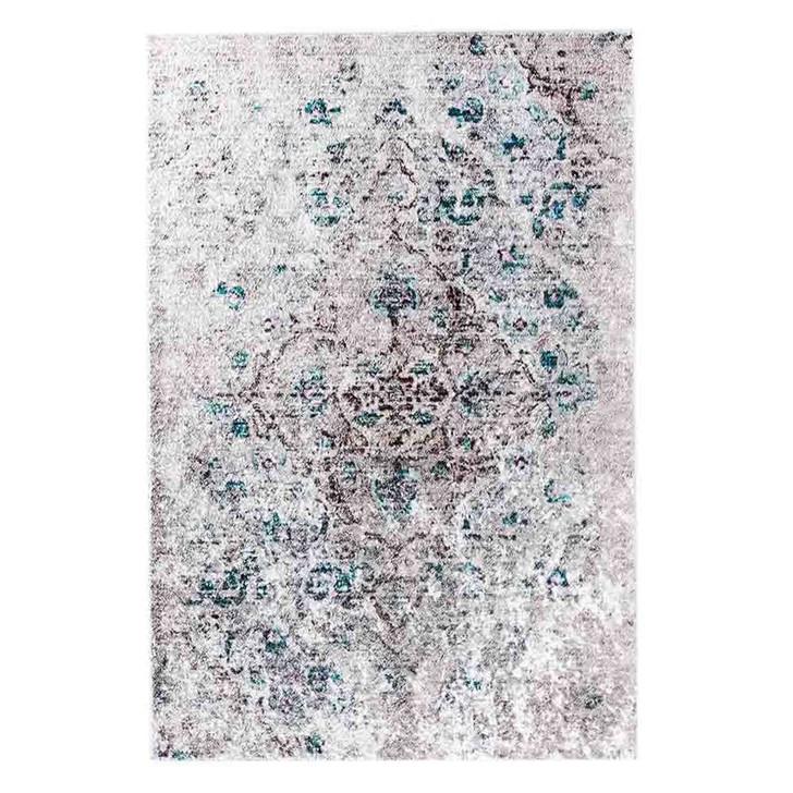 Riana Distressed Faded Design Floor Rug