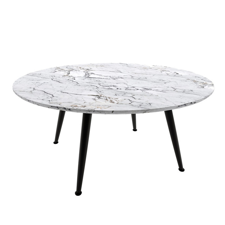 Eugene Round Dining Table - Marble