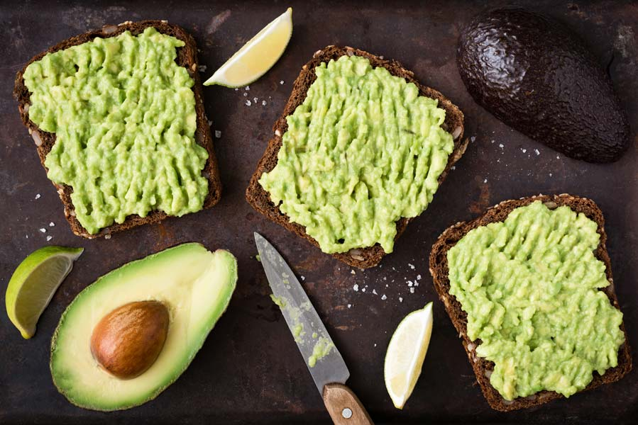 Eating avocado toast daily may help you stay healthy.