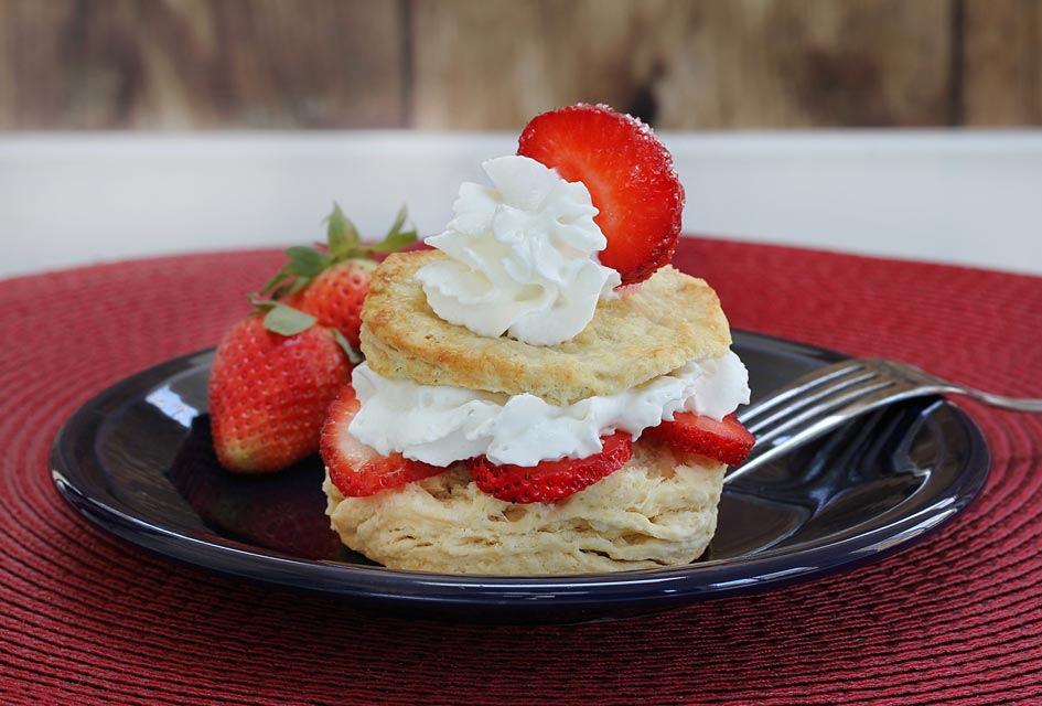 Make your strawberry shortcake a bit healthier.
