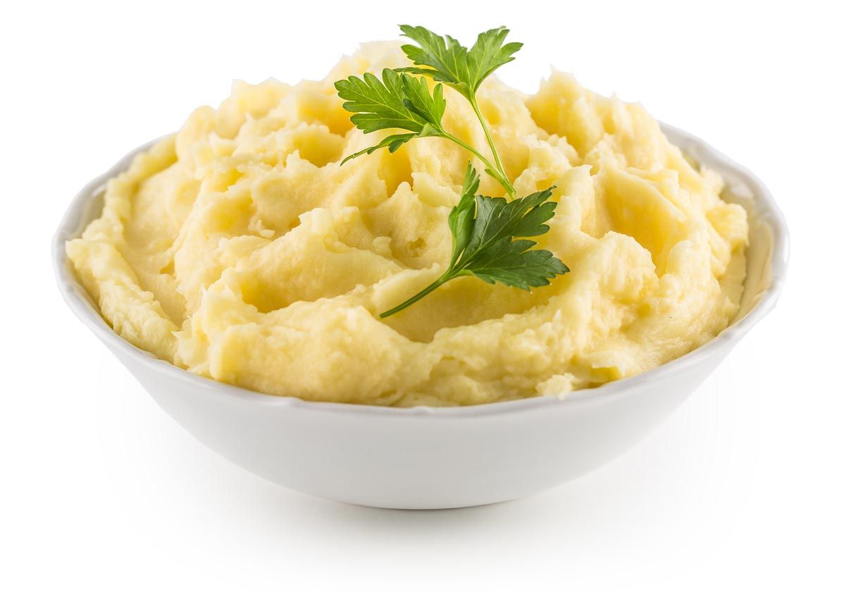 Vegan mashed cauliflower is a great substituted for potatoes.