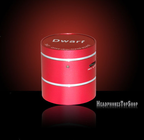 Red Mighty Dwarf Vibration Speaker