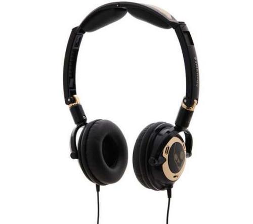 Skullcandy Earphones - Lowrider Black/Gold