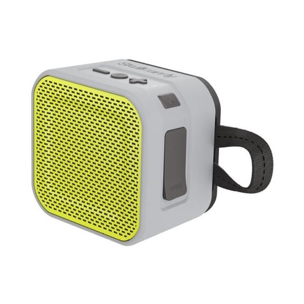 Barricade Mini BT Gray Hot Lime Portable Bluetooth Speaker By Skullcandy