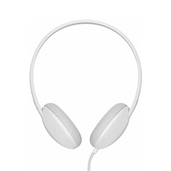 Skullcandy Stim White Wired Headphones