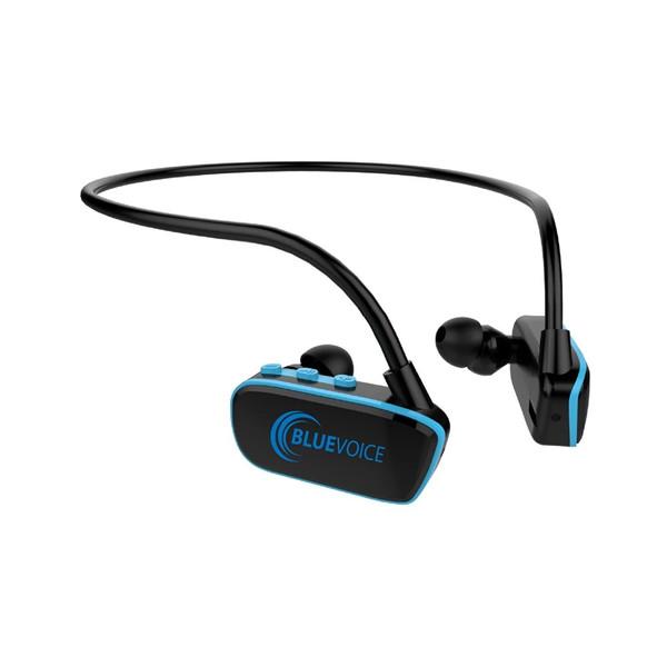 8GB Blue Voice Swimming Bluetooth Wireless MP3 Player