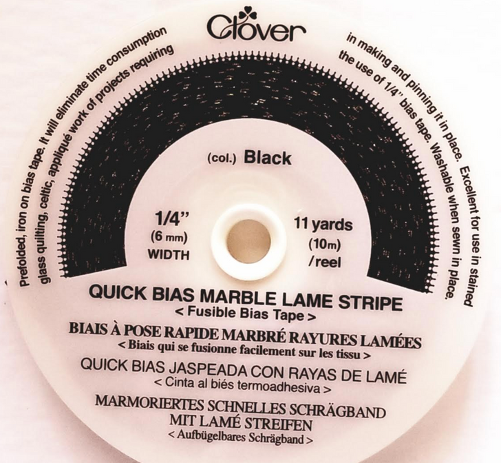 Quick Bias Marble Lame Strip