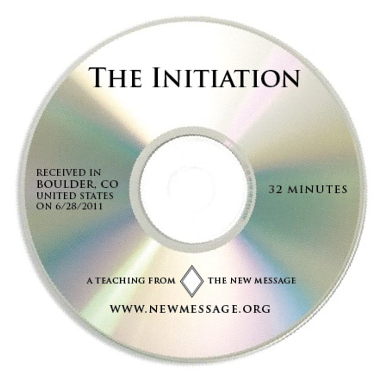 The Initiation CD