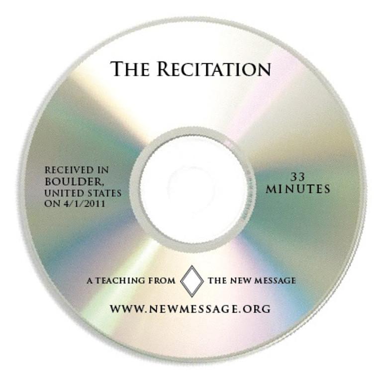 The Recitation CD