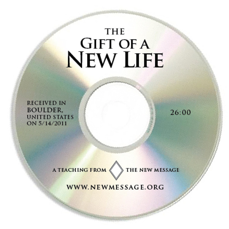 The Gift of a New Life - CD
