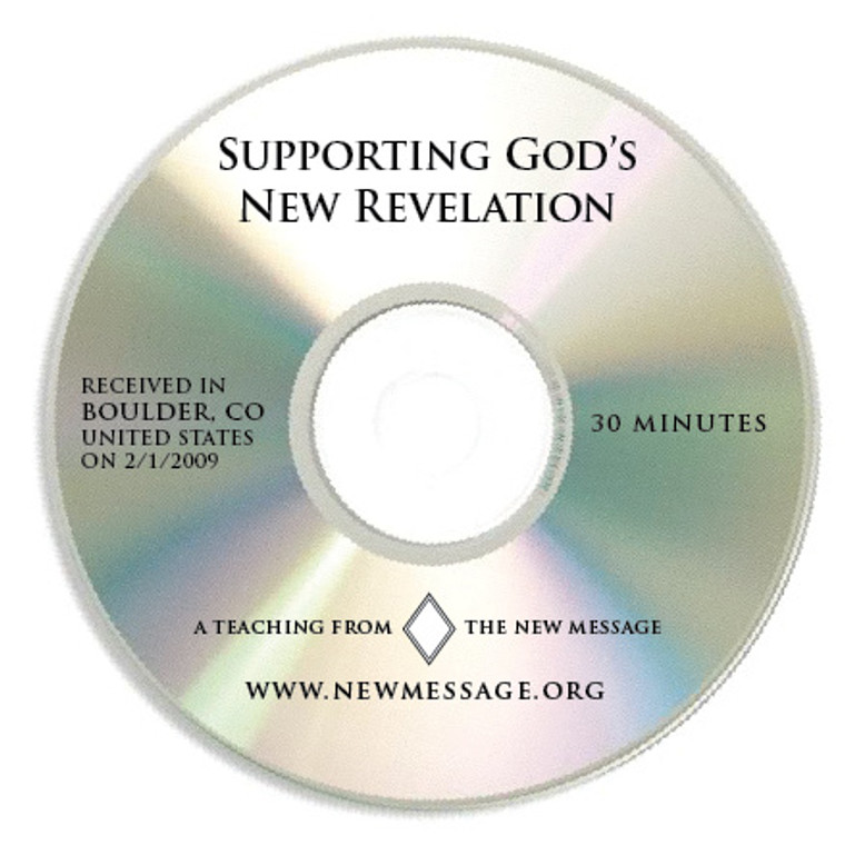 Supporting God's New Revelation CD